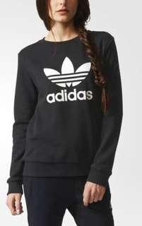 NEW adidas trefoil crewneck sweater rrp90