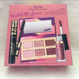 TARTE TRAVEL KIT (eyeshadow, lip paint, mascara)