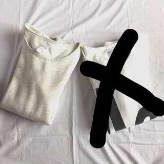 KOREAN baggy shirt dress (LAST PIECE- gray)