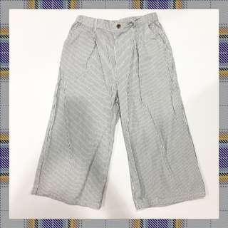 🚚 條紋白色長褲