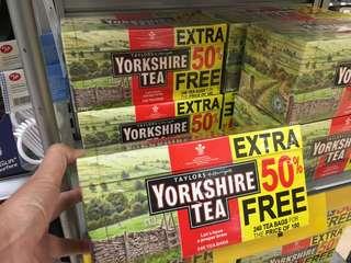 [英國直送] Yorkshire Tea 240包裝