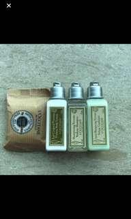 日版 Loccitane 旅行套裝4件