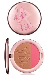 Riri Hearts MAC hibiscus kiss blush bronzer duo