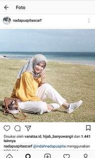 Hijab nada puspita scarf