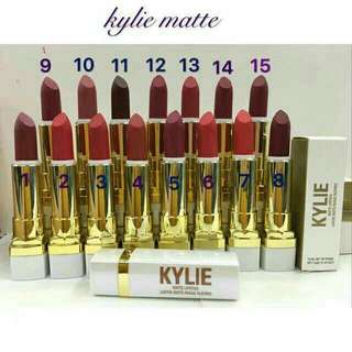KYLIE MATTE LIPSTICK  (1-15 AVAILABLE COLORS)