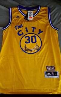 The City GSW jersey