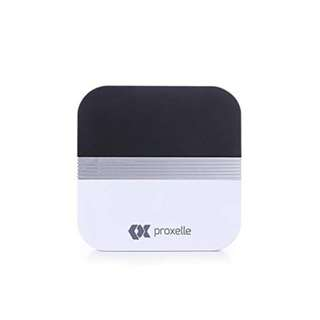 690. Extension Receiver For Proxelle Wireless Doorbell System - 1000 feet Range with 52 Chimes for Home / Office with LED Light.