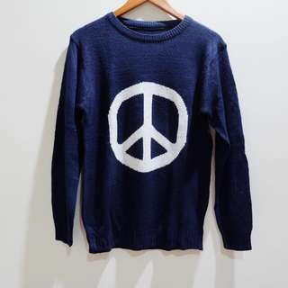 Peace Sweater Navy