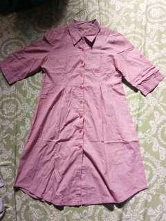 Dress selutut (tuniq)