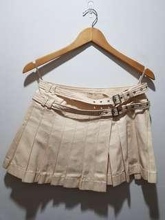 Burberry Pleated Miniskirt