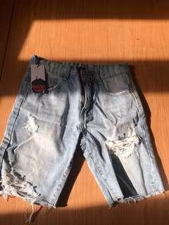 🚚 牛仔五分褲