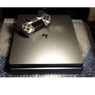 PS4 Slim 500gb Silver RUSH
