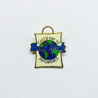 Hard Rock Cafe Pin: Singapore, Earth Day 1998