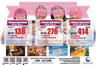 Parent's Day Promotion GC Melaka