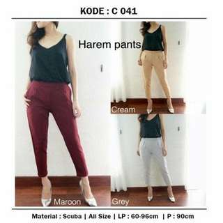 Harem pants ( white color )