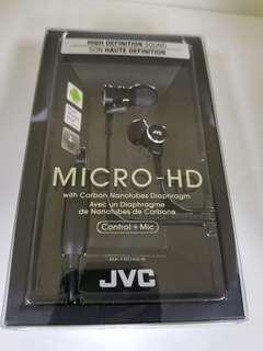 JVC HA FRD60-B Black