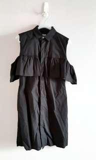 🚚 夏季大拍賣🌞izzue 黑色洋裝