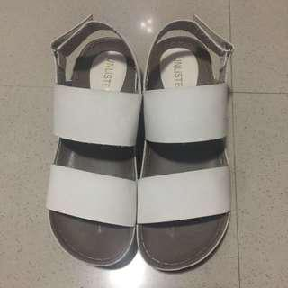 Unlisted White Sandals