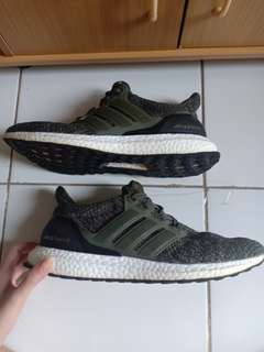 Adidas ultra boost 3.0 millitary green (Premium)
