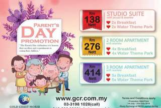 Parent's Day Promotion GC Morib