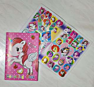 My Little Pony colouring & stickerbook