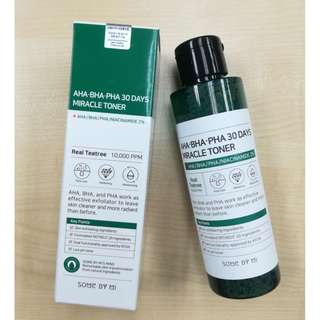 SOME BY MI AHA.BHA.PHA 30DAYS MIRACLE TONER