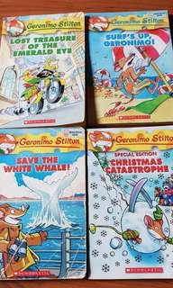 Children geronimo stilton story book