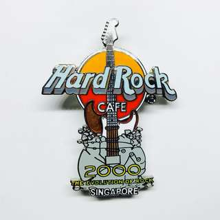 Hard Rock Cafe Pin: Singapore, 2000 The Evolution of Rock