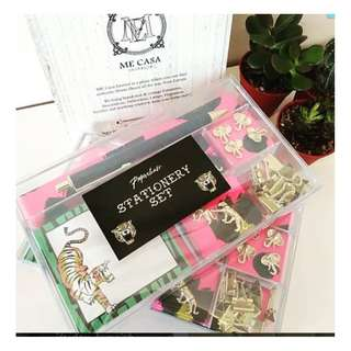 Trending #stationery set by #paperchaseuk in #tiger theme!