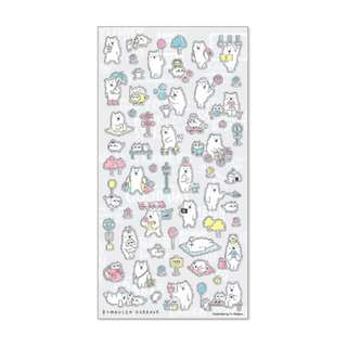 Only 1 Instock! (Mix & Match)*Mind Wave Japan - Kumaosan Odekake theme Stickers