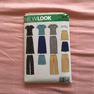 Newlook Sewing Pattern / new / uncut