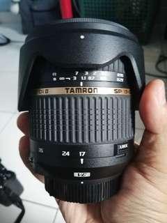Tamron SP 17-50 F2.8 VC