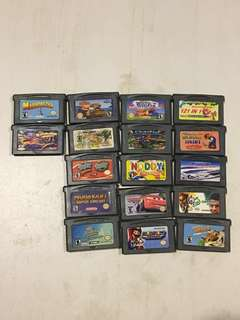Assorted Gameboy Games