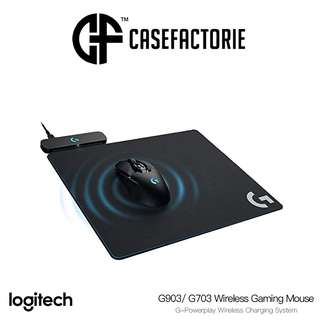 Logitech G-Powerplay Wireless Charging System for G903/ G703 Wireless Gaming Mouse