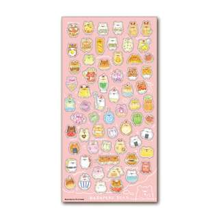 Only 3 Instock! (Mix & Match)*Mind Wave Japan - Harapeko Bear theme Stickers