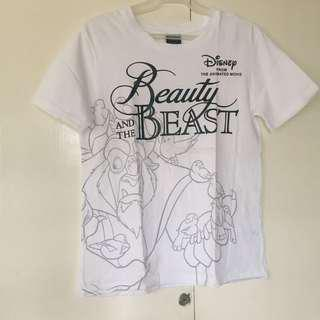 BRAND NEW GU Japan x Disney White Graphic Tee/T-shirt