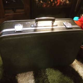 Retro Luggage England Antik