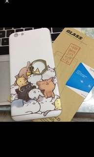 6splus貓貓case+mon貼
