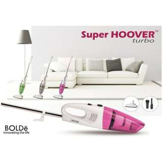 Bolde Super Hoover Turbo Vacuum Cleaner Mini Berdaya Hisap Kuat