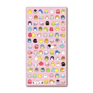 Only 3 Instock! (Mix & Match)*Mind Wave Japan - Chirpy Birds theme Stickers