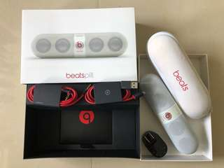 Beats pill full set