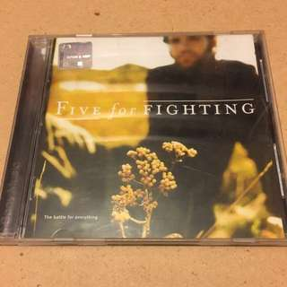 Five For Fighting. The Battle For Everything Album