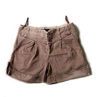 Boyfriend Shorts Khaki