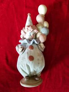 """Littlest Clown"" by Lladro"