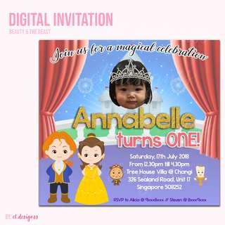 BIRTHDAY DIGITAL INVITATION