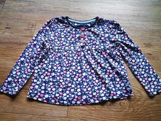 Tu Girl Floral Top