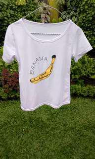 Kaos pendek Banana