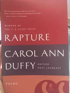 Rapture by Carol Ann Duffy - Poetry