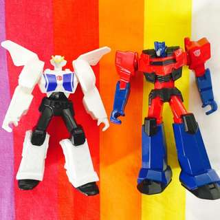 Transformers Figures 5 Inches - Set of 2
