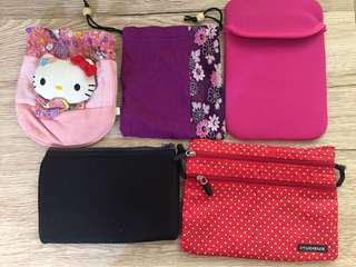 Pouches 5 for 350